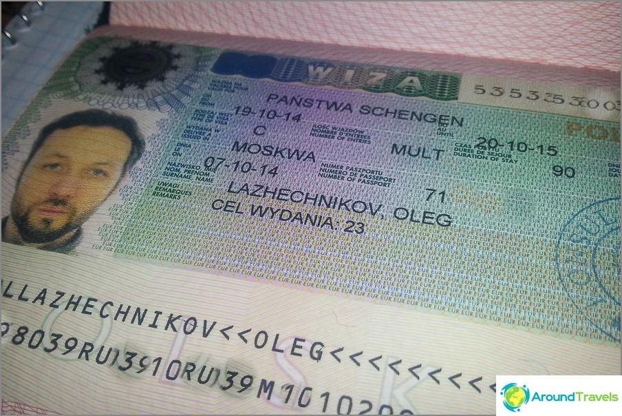 Schengen-viisumi Puolaan