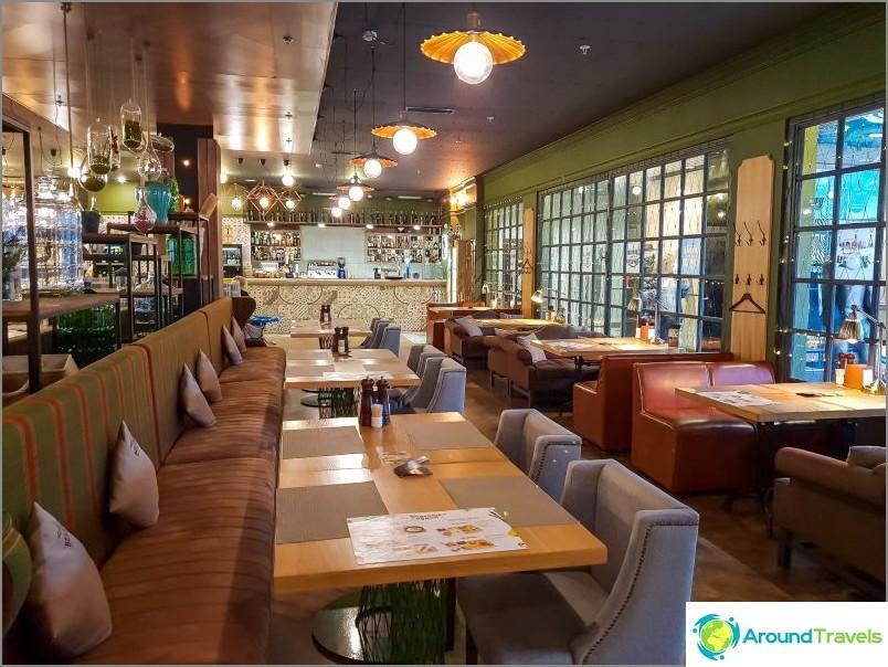 Humala & Suneli -ravintola - herkullisia ruokia Adlerissa