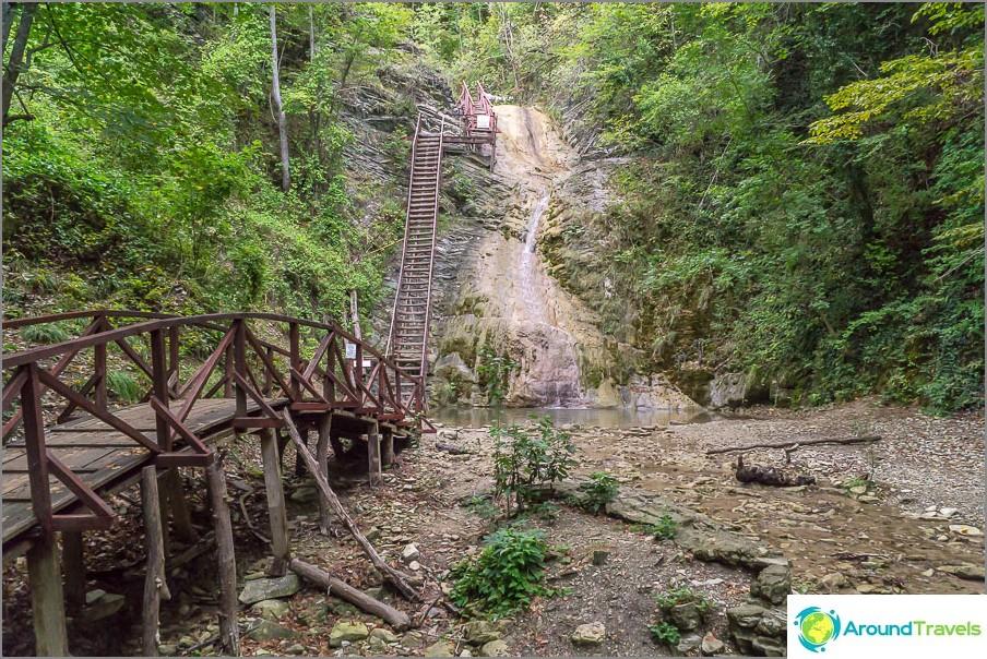Gebius Falls - aivan ensimmäinen