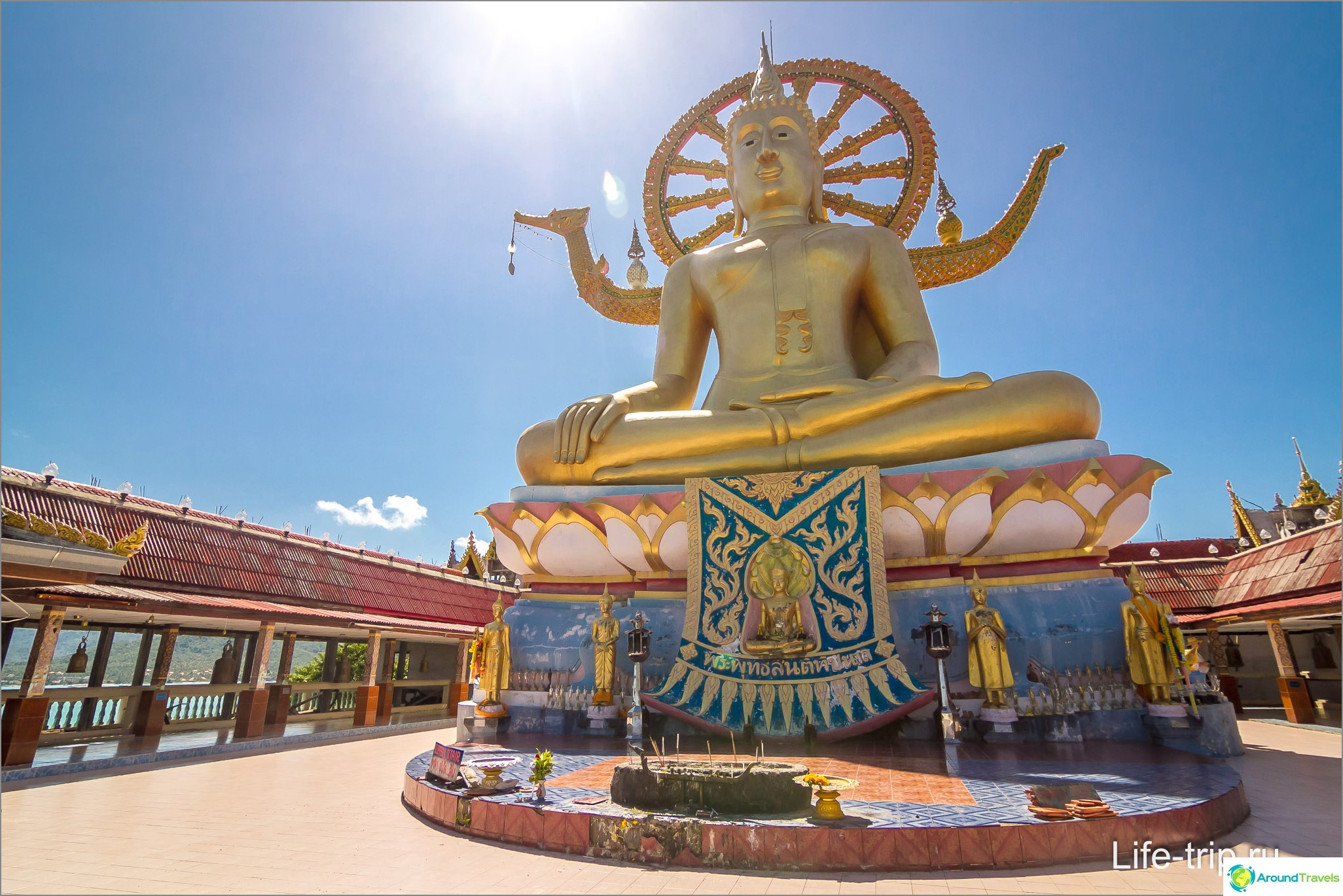 Buddha-patsas - iso Buddha