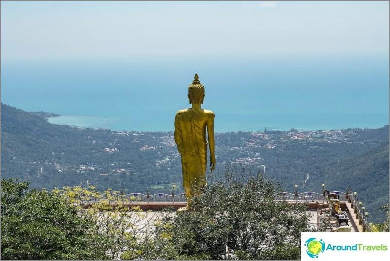Pra Buddha Teepangkorn Lamai-vuorilla