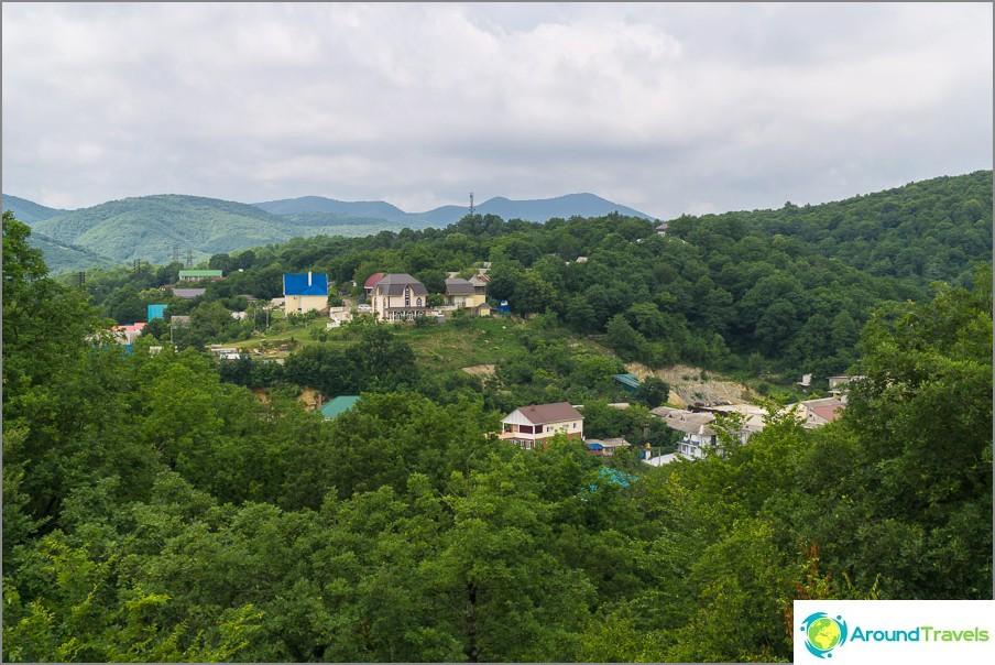 Vuoret lähellä Lermontovoa
