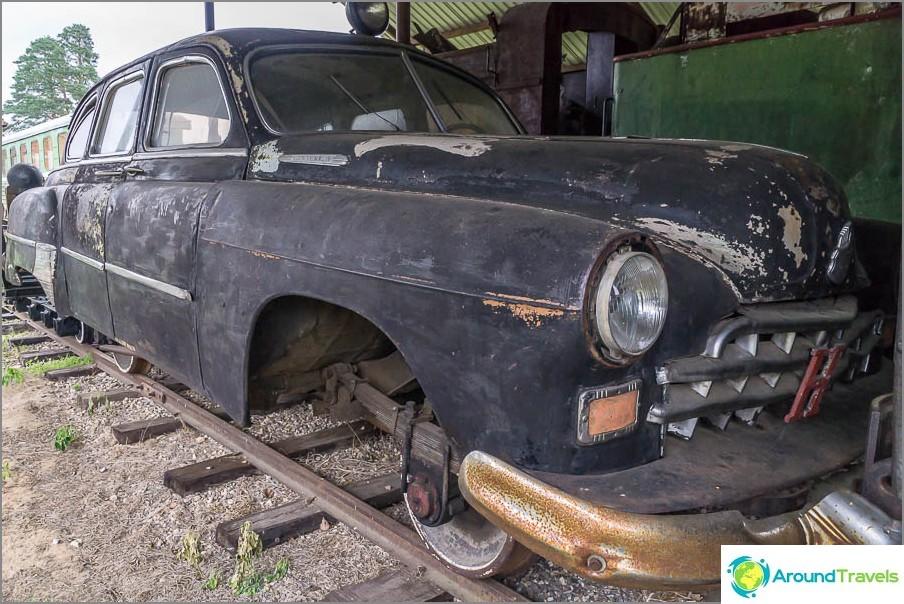 Rautatie ZIM-auto
