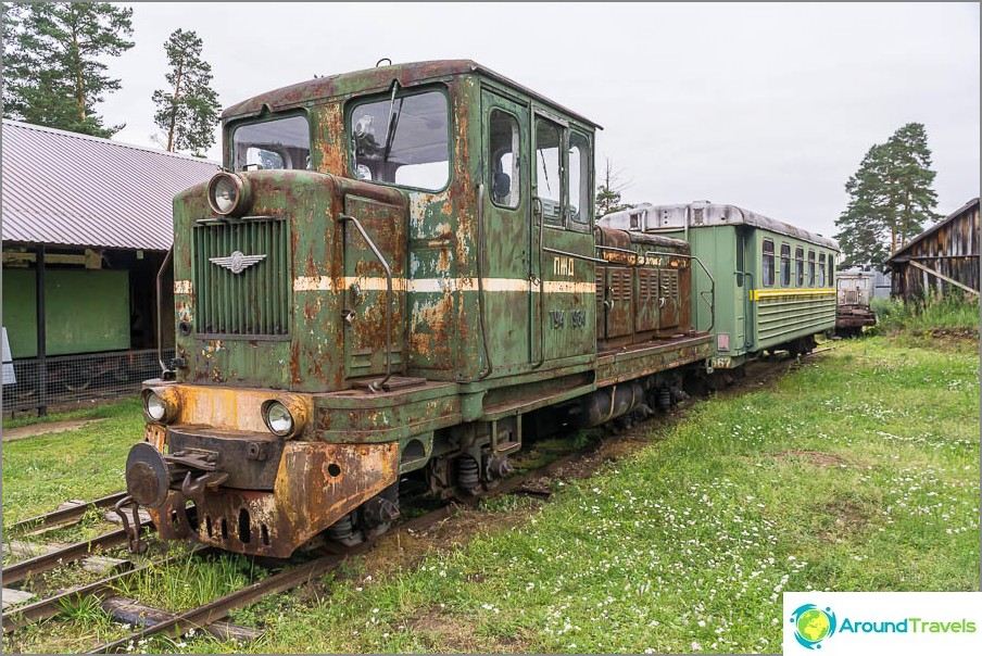 Dieselveturi TU4-1984, matkustajien kuljetusta varten