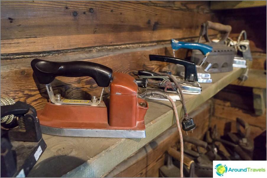 Nykyaikaiset sähköraudat
