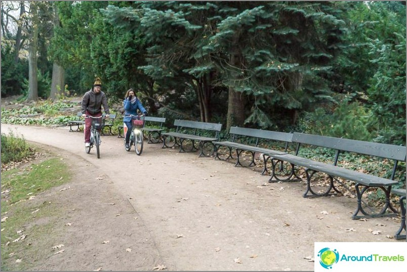 Забраната на велосипедите очевидно не се проследява