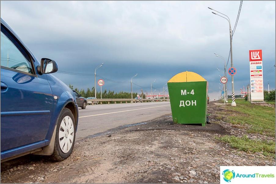 Moskovasta Krimiin on mentävä M4-moottoritielle