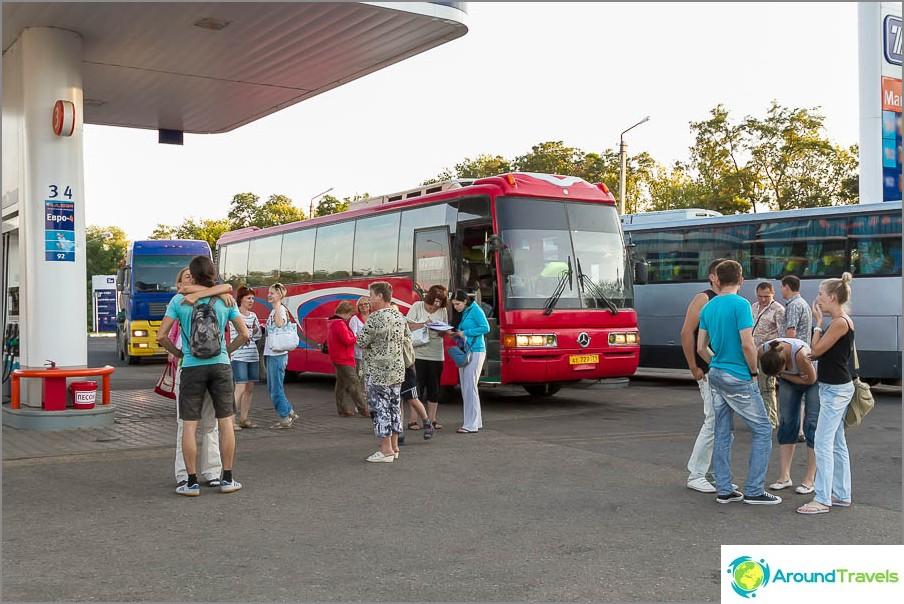 Bussi Moskova - Simferopol