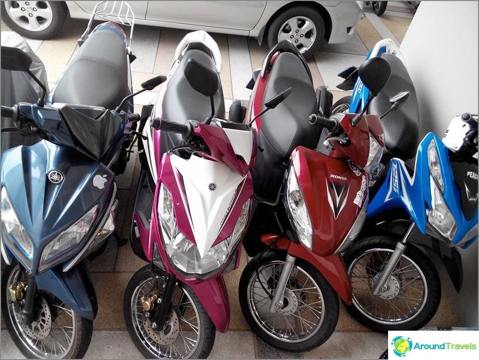 Polkupyörän vuokraus Kostilla Chiang Maissa