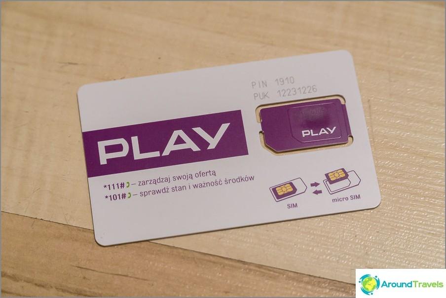 Винаги се дават обичайната SIM карта и микро.