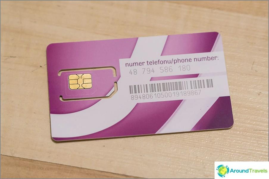 От другата страна, вашият номер е телефон, където +48 е кодът на държавата