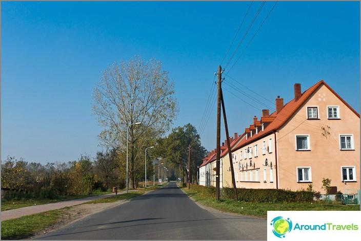Чехия и къщи с керемиден покрив