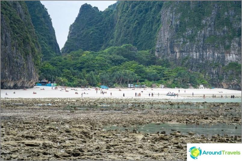 Näkymä Maya Baylle tältä rannalta