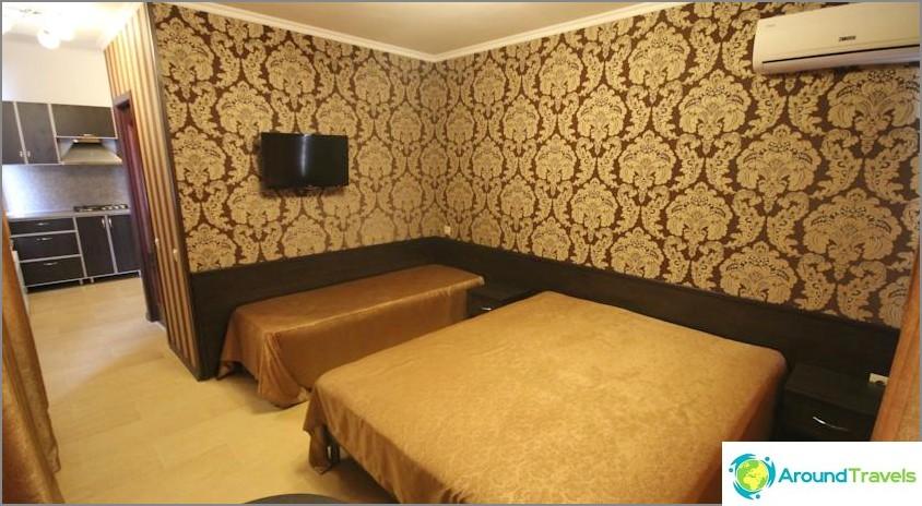 Missä on parempi yöpyä Adlerissa ja halpa - luettelo hotelleista