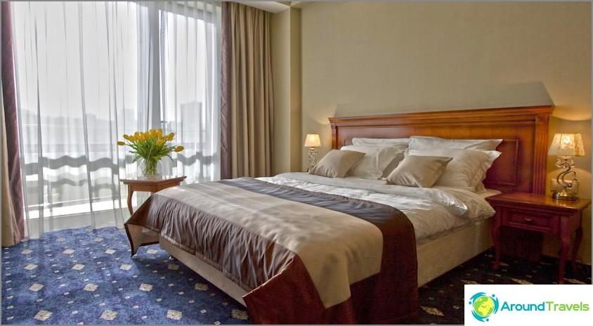 Missä yöpyä Sotšissa halvalla - luettelo hotelleista ja hostelleista