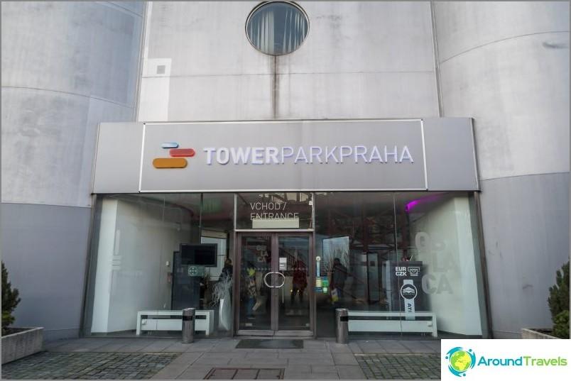 Prahan tv-torni - Tšekin tasavallan futuristinen ylpeys