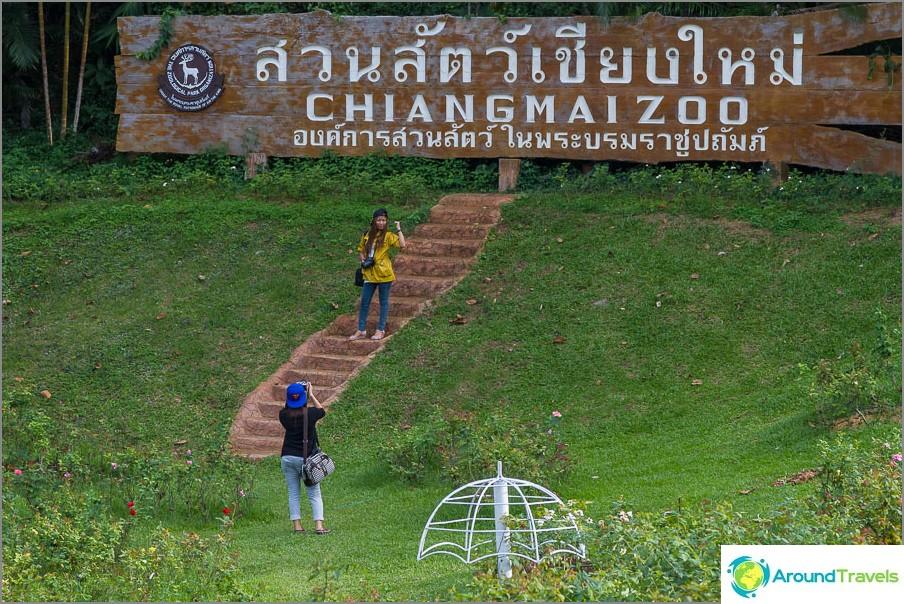 Chiang Main eläintarha