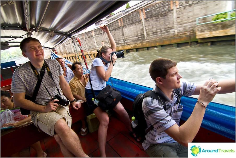 Ratsastus Bangkok Klong