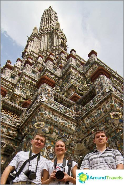 Aamunkoitoksen temppeli Bangkokissa