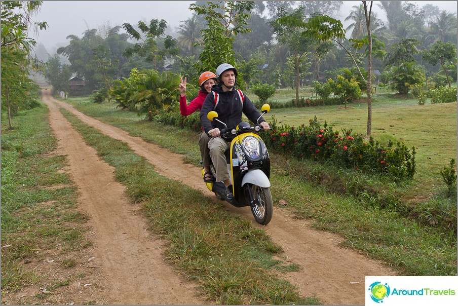 Opi ajamaan polkupyöriä Thaimaassa