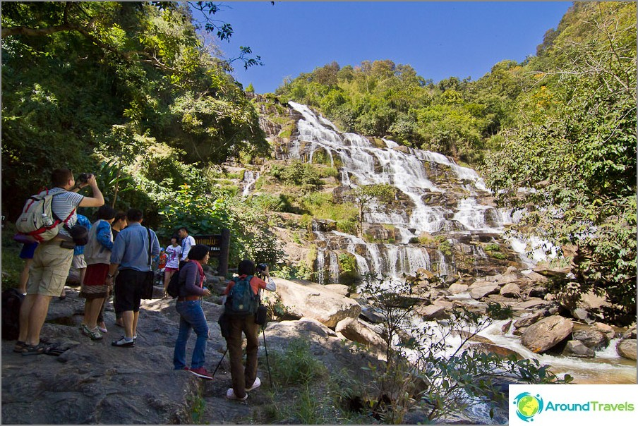 Thaimaan korkein vesiputous