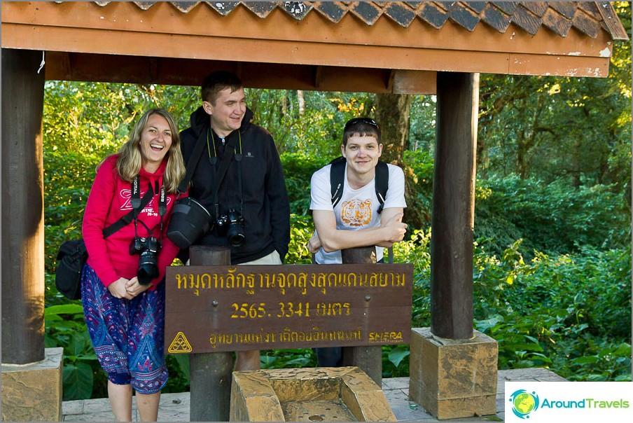 Thaimaan korkein kohta, kaikki on hyvin, vain hala