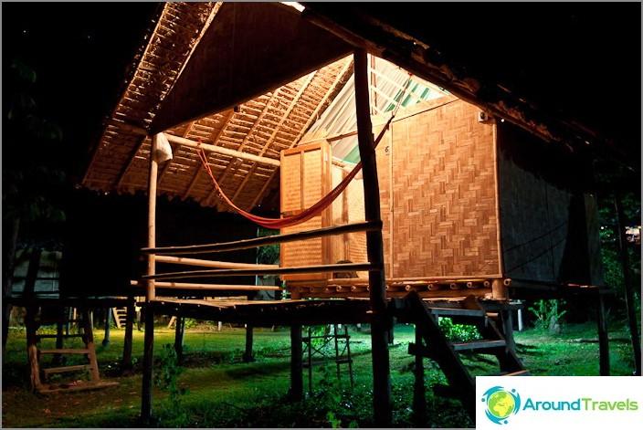 Bambu Bungalow Twin Hut