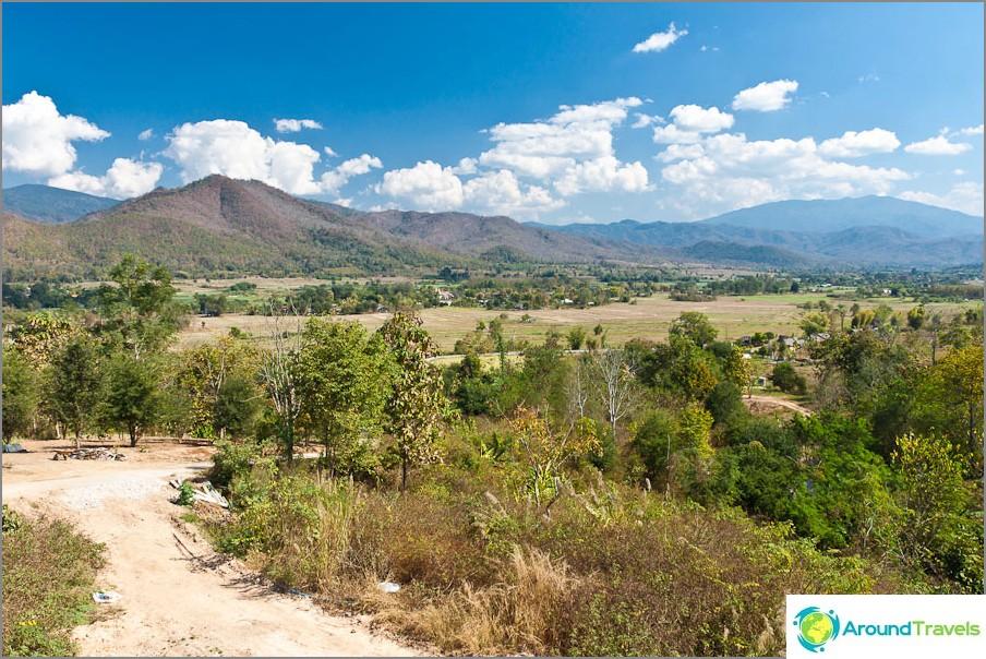 Pai- ja thaimaalaiset maisemat