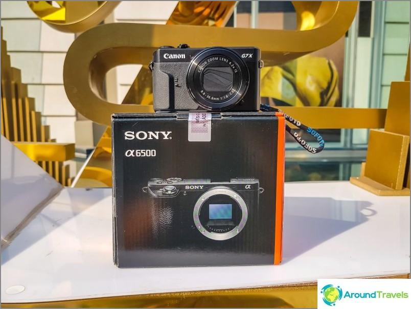 Thaimaasta osti Sony a6500