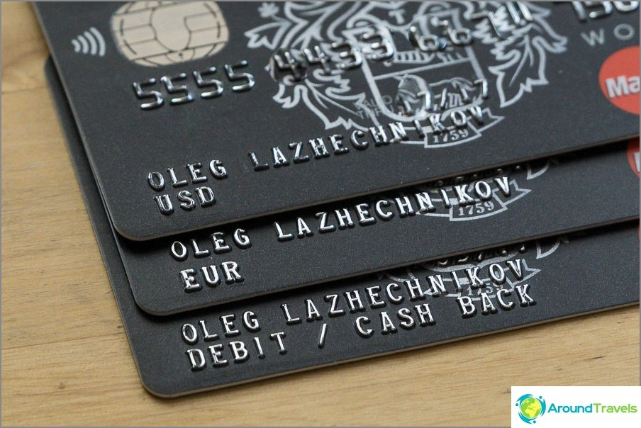 Minkä kortin valitset ruplaksi tai valuuttaksi