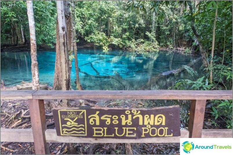 Blue Lake, alias Blue Pool
