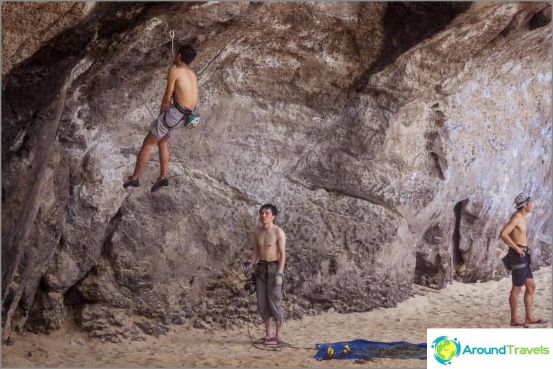 Kiipeily Krabissa