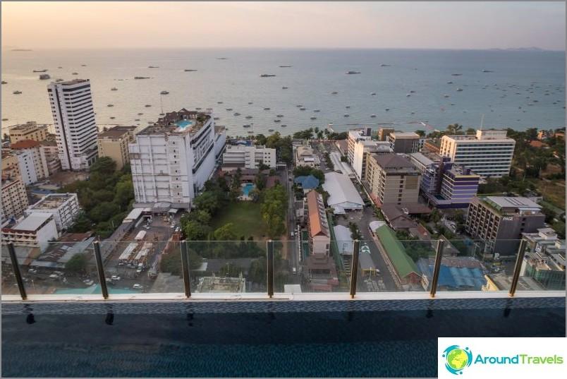 Näkymä Pattayan keskustaan