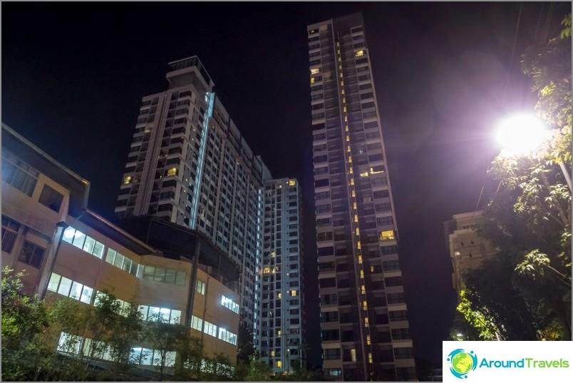 Asunto Pattayan keskustassa