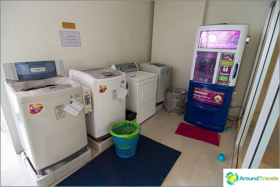 Kolikko- ja vodomat-pesukoneet