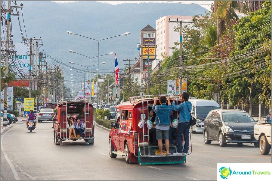 Най-лесният начин да пътувате из града е songteo