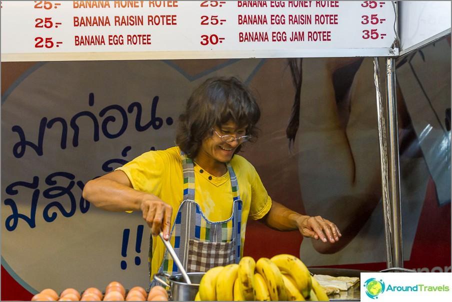 Някой много щастлив продавач на палачинки