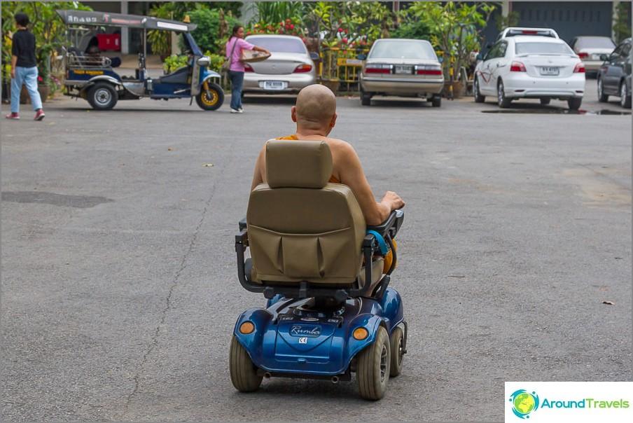 Монк за инвалидни колички