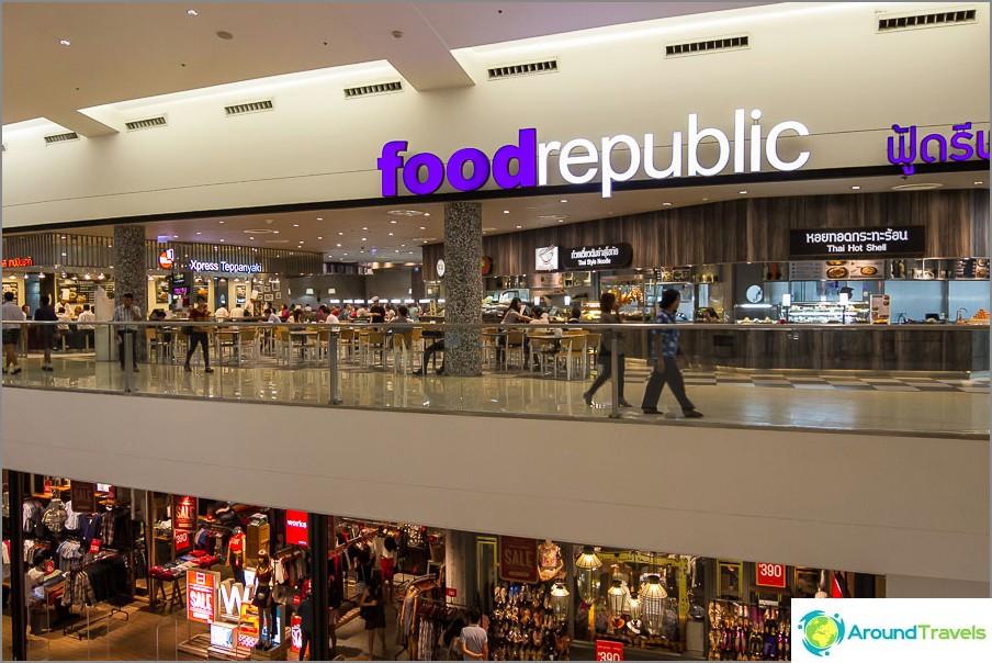 Mikä ostoskeskus ilman ruokakenttää