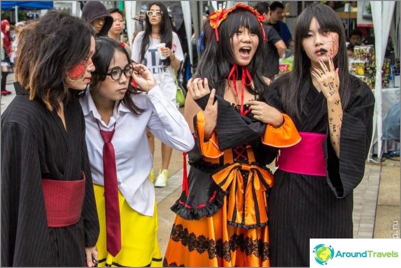Бангкок състезание по косплей