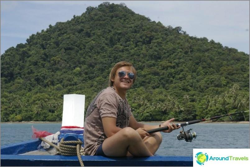 Риболов на Ко Чанг
