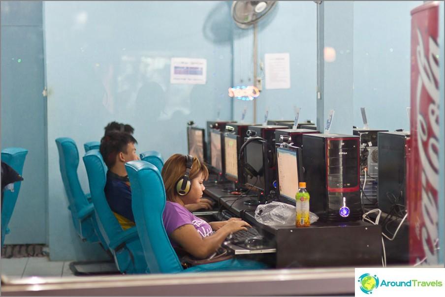 Internet-kahvila Chiang Maissa