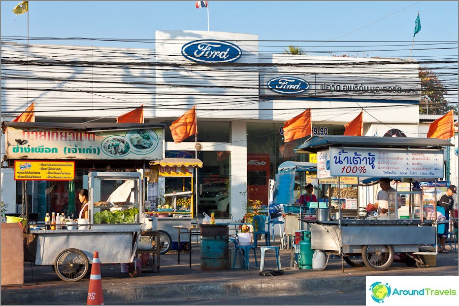 Makashnitsy lähellä Ford Motor Show