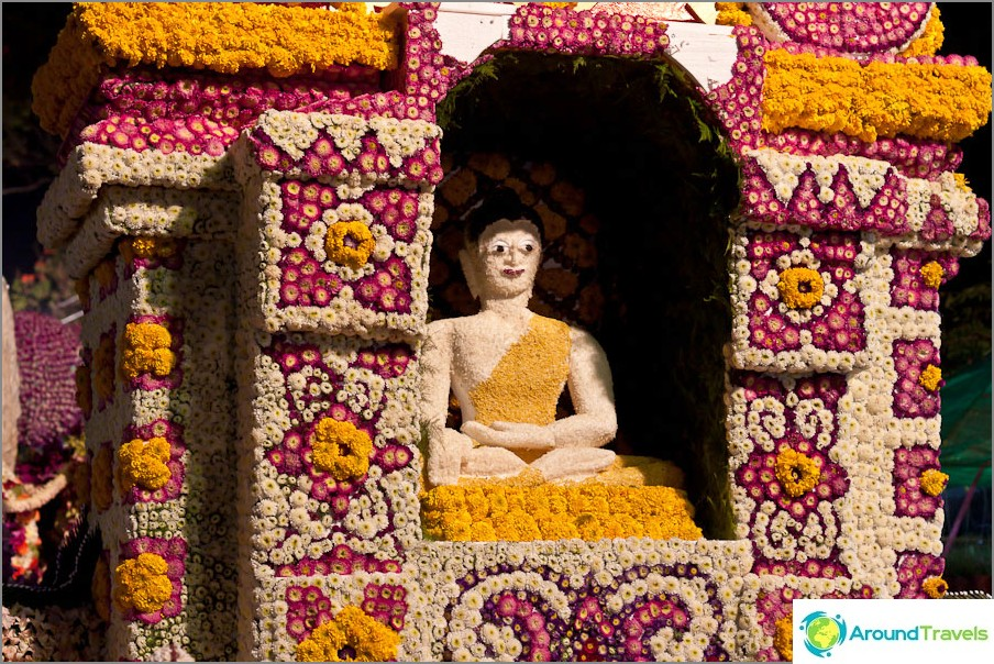 Kukka Buddha, Chiang Mai Kukkafestivaali