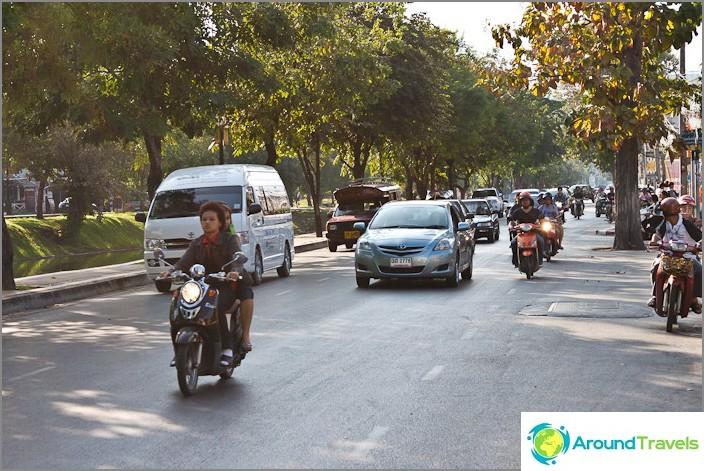 Vilkas liikenne kaduilla
