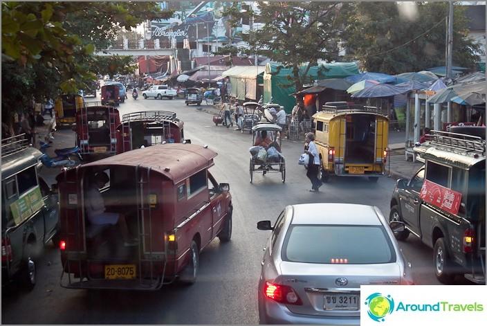 Kuljetus Thaimaassa