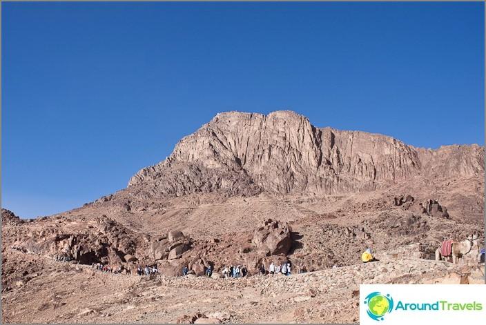 Mooseksen vuori Egyptissä