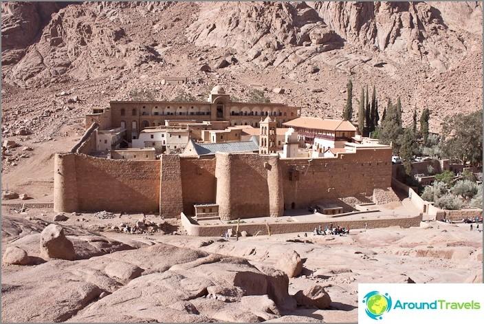 Pyhän Katariinan luostari.