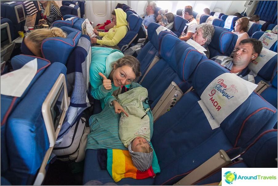 Lento meni täydellisesti! Kaikki on suhteellista!