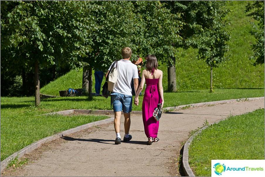 Romanttiset kävelyretket Dubrovitsyssä